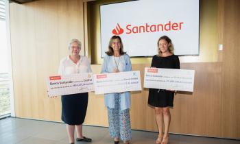 El Banco Santander dona a CONFER 633.000 euros para 15 proyectos solidarios.