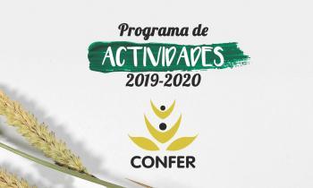 Programa de Actividades de la CONFER para el próximo curso 2019-2020