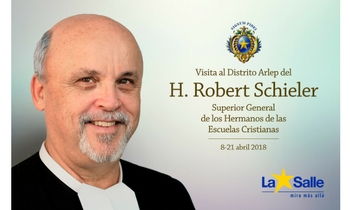 Visita a España del Superior General de los Hermanos de La Salle, Robert Schieler