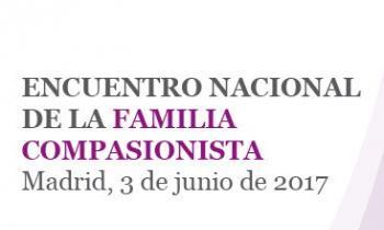 Encuentro Nacional de la familia compasionista, el próximo 3 de junio