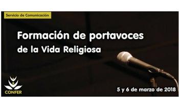 CONFER organiza la segunda edición del curso-taller de formación de portavoces para la Vida Religiosa