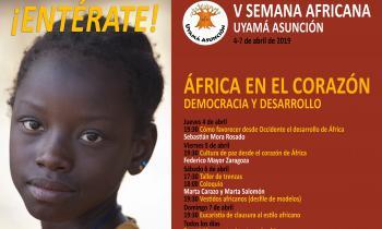 Foto Cartel V Semana Africana