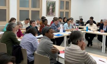 Encuentro de religiosas menores de 65 años de las Provincias de Europa y España, ODN