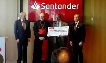 Foto cheque Santander 2019