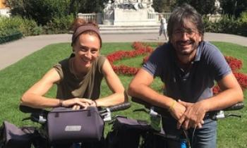Vacaciones solidarias: más de 800 kilómetros en bici para recaudar fondos