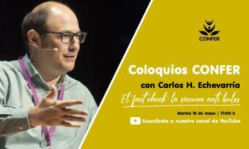 """""""Coloquios CONFER"""" con Carlos Hernández-Echevarría"""
