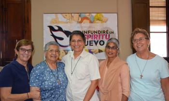 Nuevo Gobierno General de las Hermanas Franciscanas de la Inmaculada
