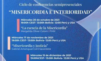 """Ciclo de Conferencias """"Misericordia e Interioridad"""""""