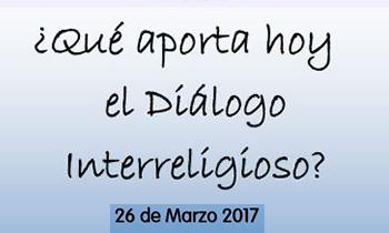 Nueva edición del encuentro de diálogo interreligioso, el 26 de marzo