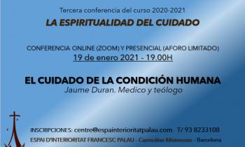 """Conferencia """"El cuidado de la condición humana"""""""