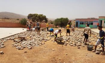 """""""Llenando escuelas"""" de Casa Escuela Santiago Uno, premio de la fundación Telefónica"""