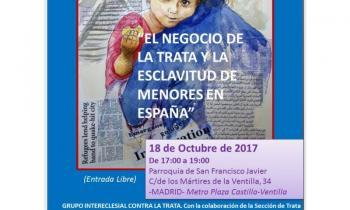 Jornada contra la trata 18 de octubre de 2017