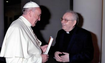 Aquilino y Papa Francisco