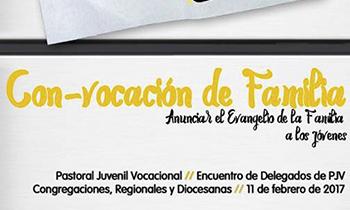 Disponibles los materiales del Encuentro de Delegados de Pastoral Juvenil Vocacional del pasado 11 de febrero