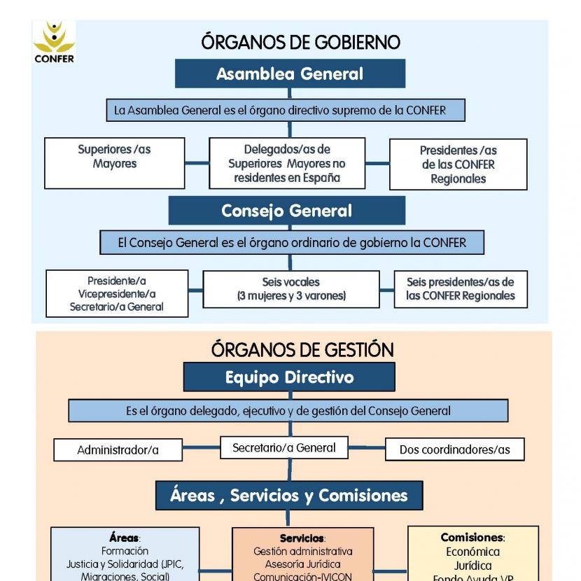 organigrama confer