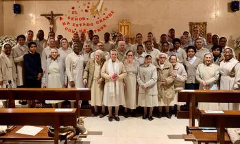La Casa General de las Esclavas de la Santísima Eucaristía y de la Madre de Dios cumple 75 años