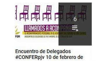Todos los vídeos del Encuentro de Delegados de PJV del 10 de febrero, en el canal de Youtube de CONFER