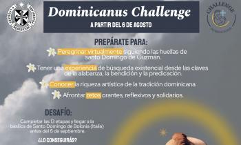 'Dominicanus challenge', peregrinación virtual por los caminos de Santo Domingo de Guzmán