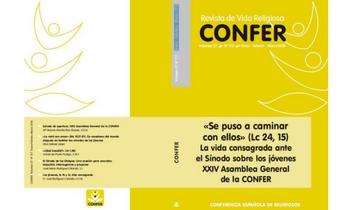Ya está disponible el número 217 de la revista CONFER sobre la XXIV Asamblea General y el Sínodo sobre los jóvenes