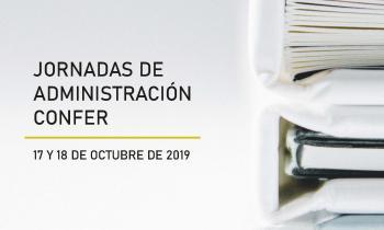 Jornadas de Administración CONFER Octubre 2019