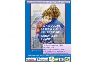 18 de octubre 2017, Día Europeo contra la Trata de Seres Humanos    Las entidades de Iglesia denuncian la invisibilidad de las mujeres y niñas en situación de movilidad forzada