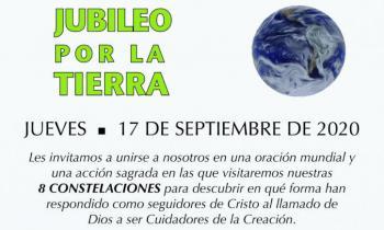 Jubileo por la tierra: Una oración mundial y una acción sagrada