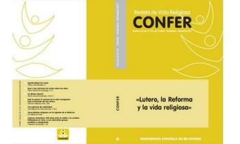 Publicado el número 216 de la revista CONFER, sobre Lutero, la Reforma y la vida religiosa