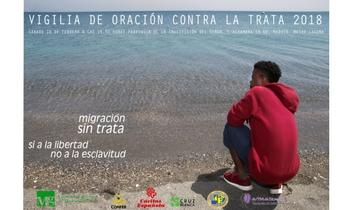 El 10 de febrero se celebra en Madrid la Vigilia contra la Trata de seres humanos