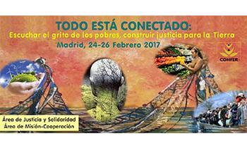 Disponibles los materiales de las Jornadas de Justicia y Solidaridad de CONFER del pasado mes de febrero