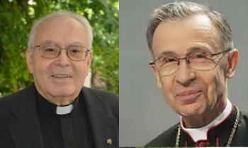 La CONFER felicita a los dos neocardenales religiosos españoles: Aquilino Bocos, cfm, y Luis Ladaria, sj