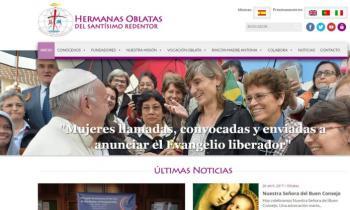 Las Hermanas Oblatas Del Santísimo Redentor estrenan web