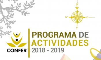 Ya está disponible el Programa de Actividades que CONFER presenta para el próximo curso 2018-2019.