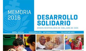 La Obra Social de San Juan de Dios atendió en 2016 a 55.017 personas en cuatro comunidades autónomas