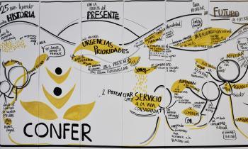 Clausura XXV Asamblea General de CONFER